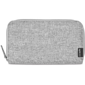 Pacsafe RFIDsafe LX250 Zippered Travel Wallet tweed grey